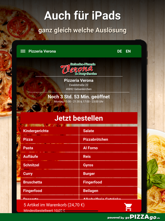 Pizzeria Verona Gelsenkirchen screenshot 7