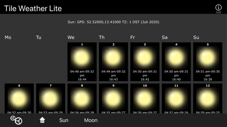 Tile Weather Lite screenshot-4