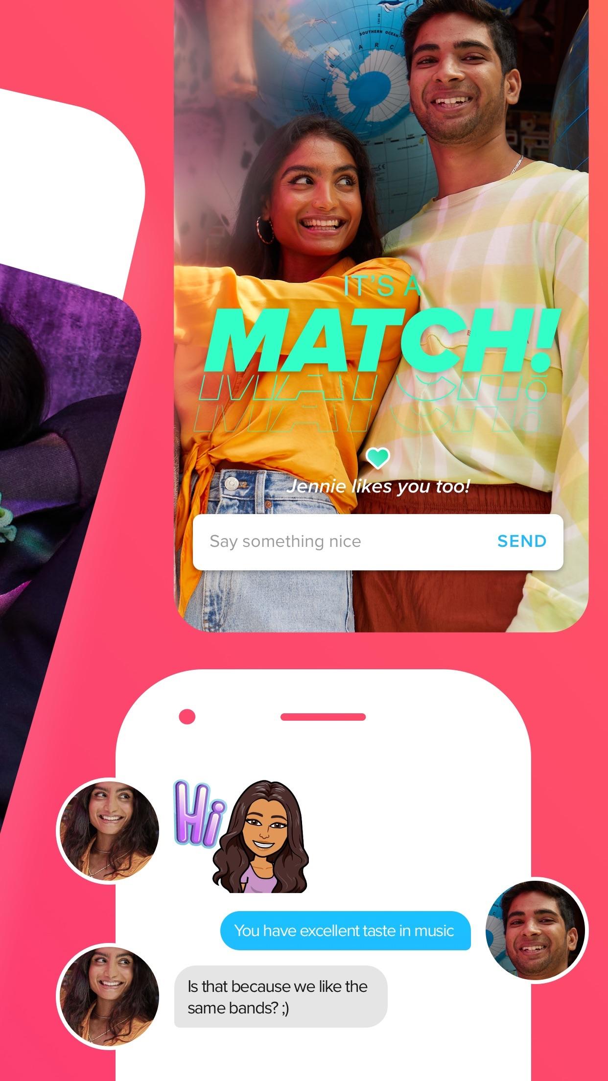 Tinder - Dating New People Screenshot