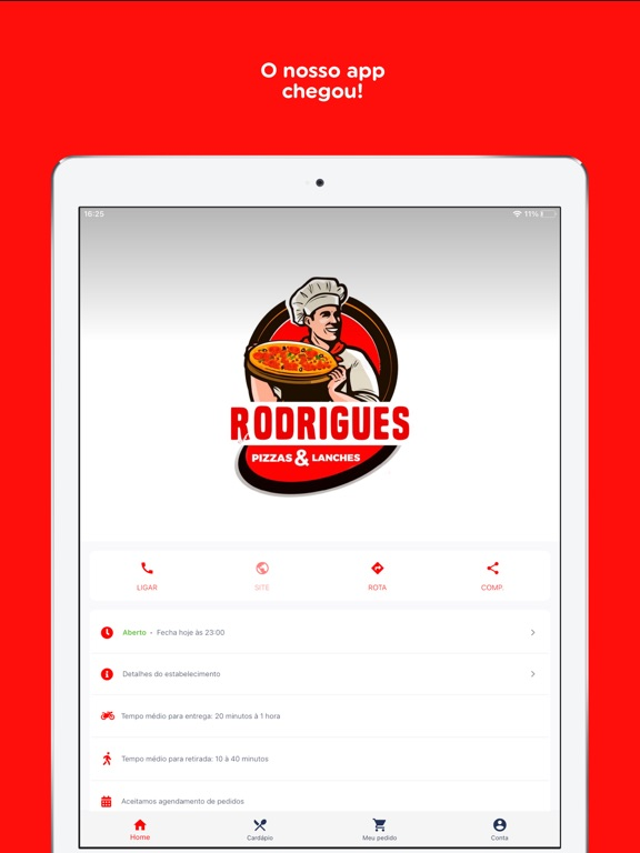 Disk Pizza Rodrigues screenshot 7