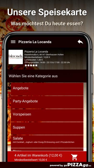 Pizzeria La Locanda Oberhausen screenshot 4