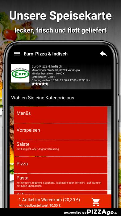 Euro-Pizza & Indisch Vöhringen screenshot 4