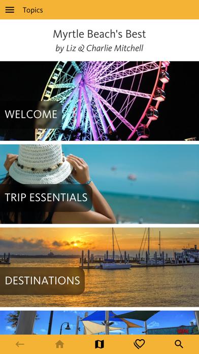 Myrtle Beach's Best Travel App screenshot 1