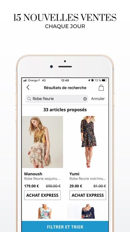 BazarChic, ventes privées mode screenshot-3