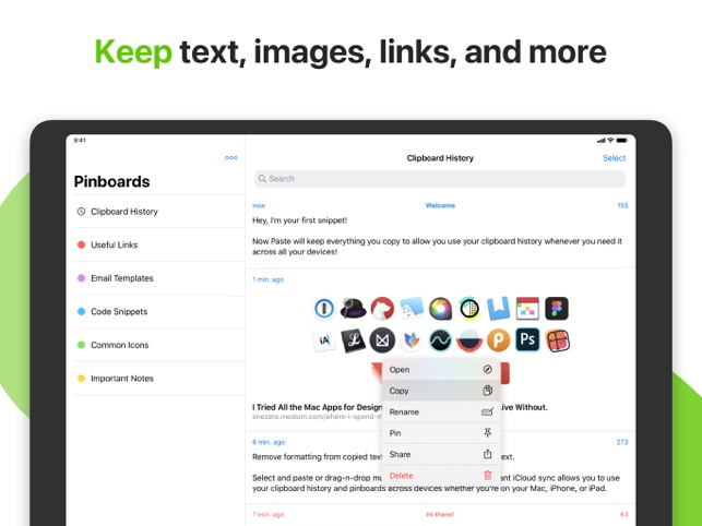 ‎Paste - Clipboard Manager Screenshot