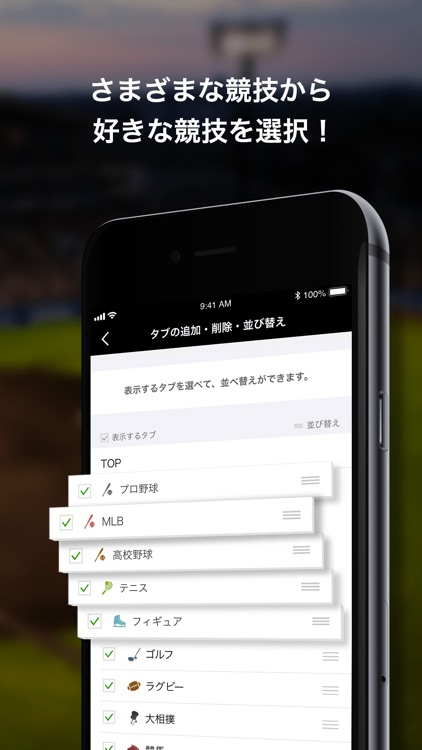 dmenu スポーツ screenshot-5