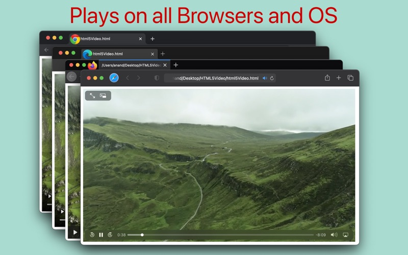 HTML5 Video Creator for Mac