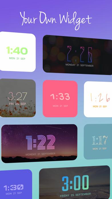 OnClock - Widget screenshot #1