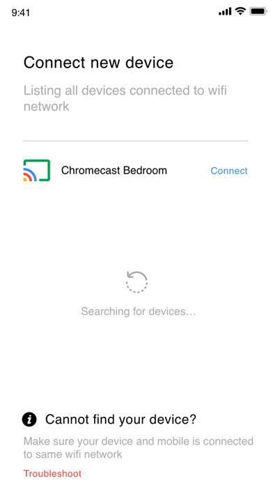 Tv cast for google chromecast.Captura de pantalla de5