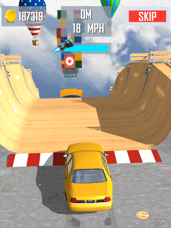 Mega Ramp Car Jumping screenshot 9
