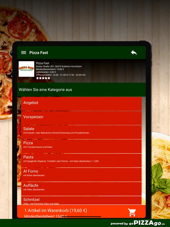 Pizza Fast Koblenz Horchheim screenshot 8
