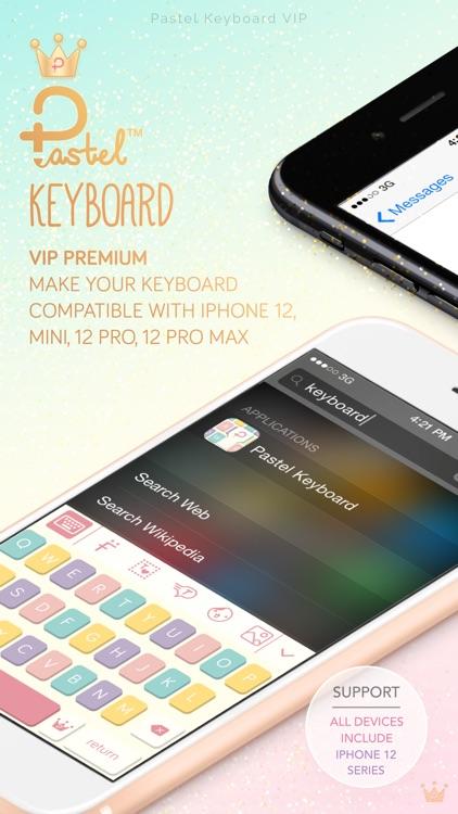 Pastel Keyboard Themes Color screenshot-0