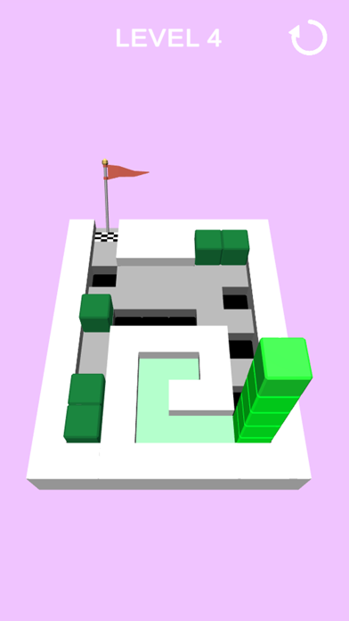 Cube stack puzzle screenshot 2
