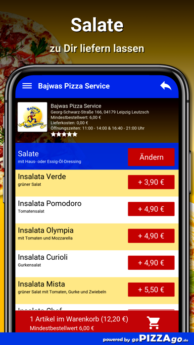 Bajwas Pizza Leipzig Leutzsch screenshot 5