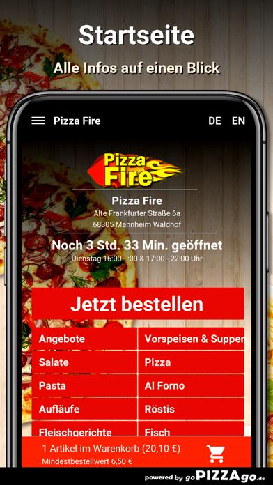 Pizza Fire Mannheim Waldhof screenshot 3