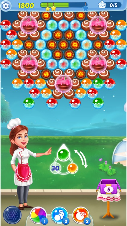 Bubble Shooter Ⓞ Pastry Pop screenshot-5