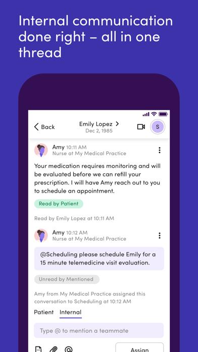 messages.download Klara – Patient communication software