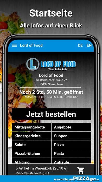 Lord of Food Stammham screenshot 2