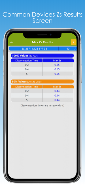 ‎Max Zs Values Screenshot