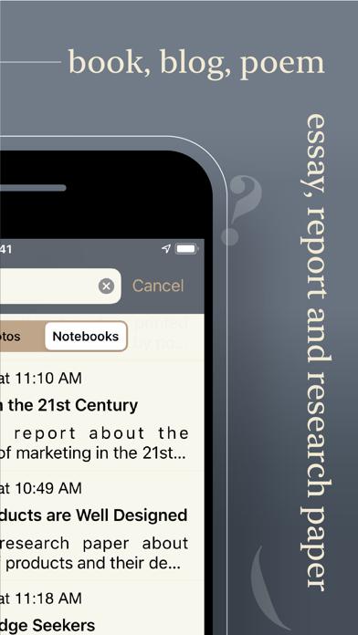 Notewrap - Book & Blog Writer屏幕截图2