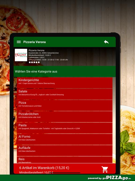 Pizzeria Verona Gelsenkirchen screenshot 8