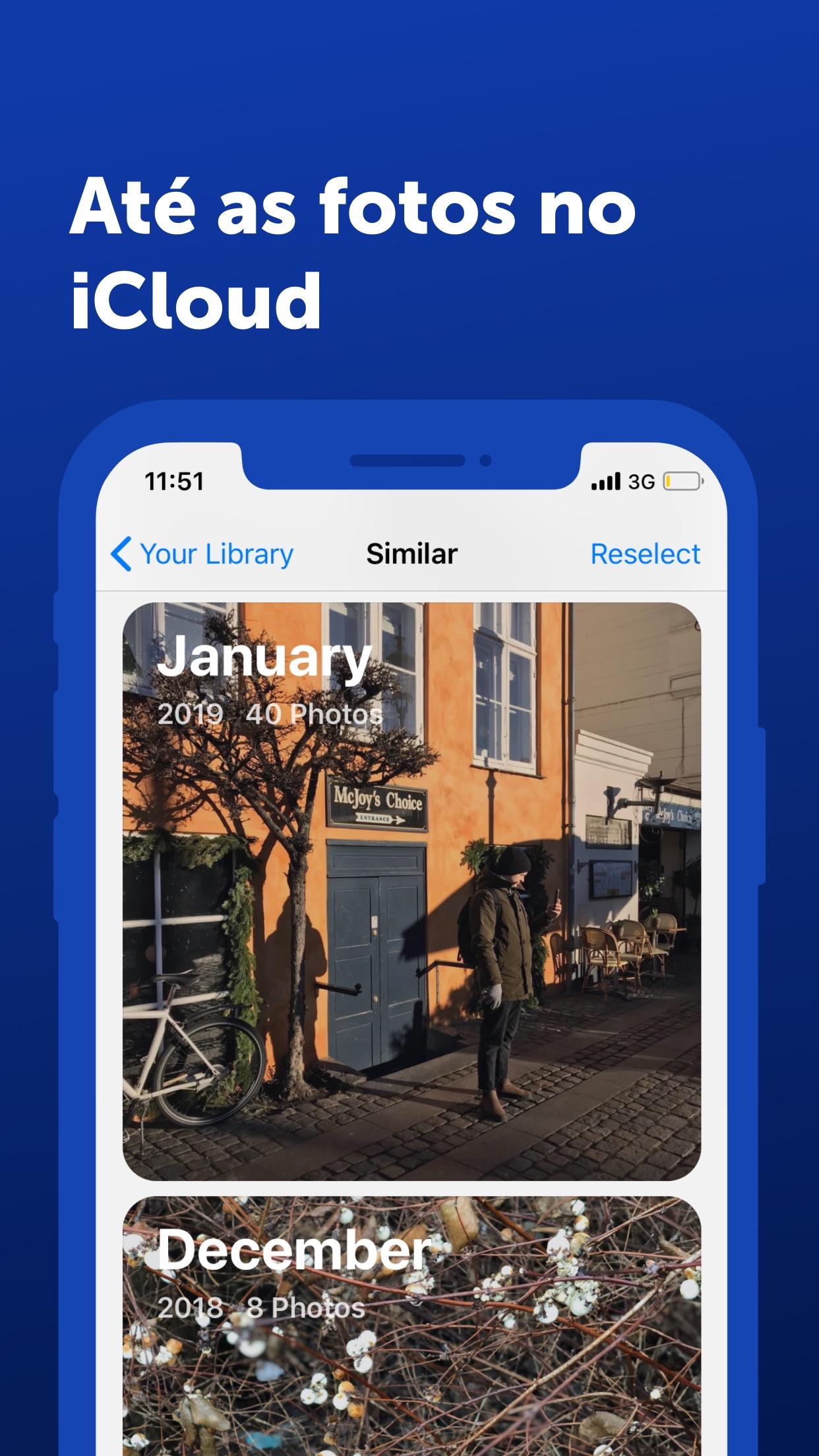 Screenshot do app Gemini Photos: Gallery Cleaner