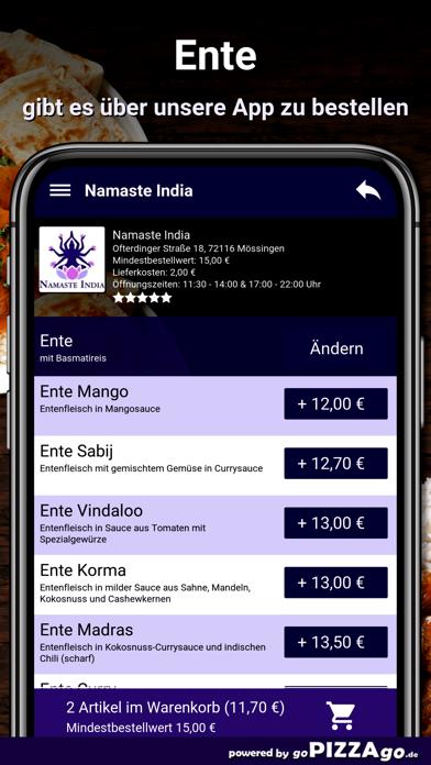 Namaste India Mössingen screenshot 6