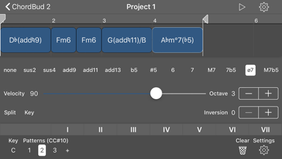 ChordBud 2 AUv3 MIDI Sequencerのおすすめ画像7