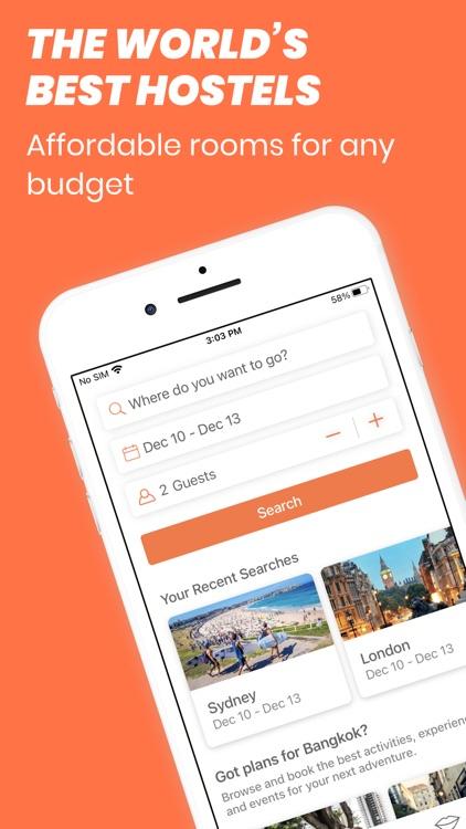 Hostelworld: Hostel Travel App screenshot-0