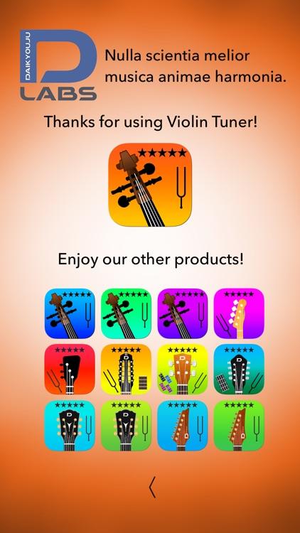 Violin Tuner Professional screenshot-9