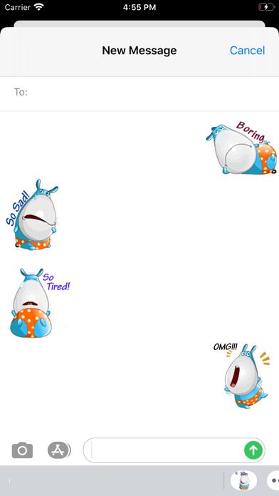 Animated Happy Donkey Stickers screenshot 1