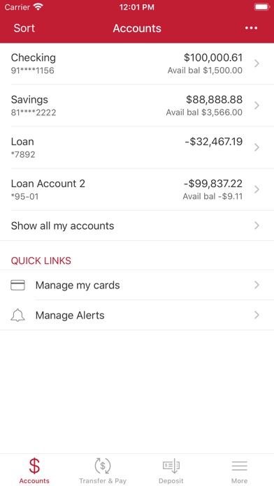 CSB Mobile – Claremont SavingsScreenshot of 3