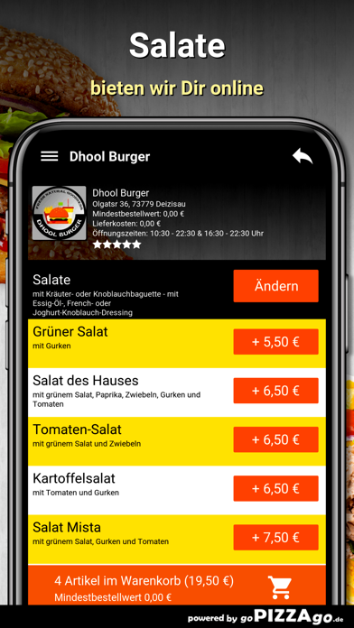 Dhool Burger Deizisau screenshot 5