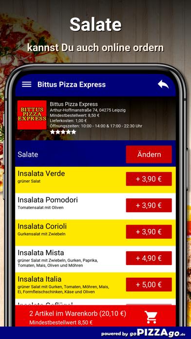 Bittus Pizza Express Leipzig screenshot 5