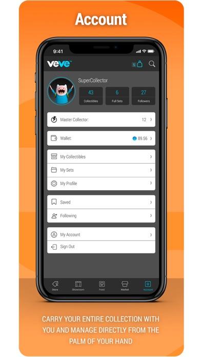 VeVe Collectibles Screenshot