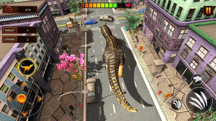 Dino Survival Safari Hunting screenshot-3