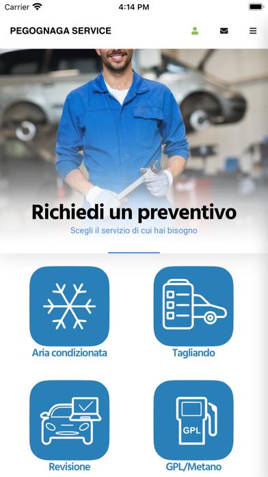 Pegognaga Service Screenshot