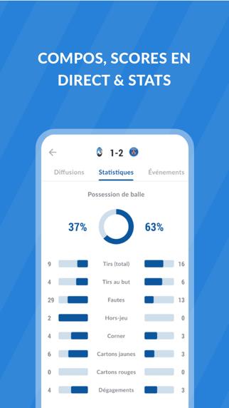 messages.download Live Foot TV: Résultats, Stats software