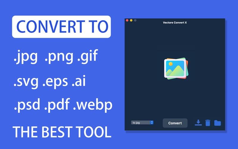 Vector Converter X - SVG,EPS скриншот программы 1