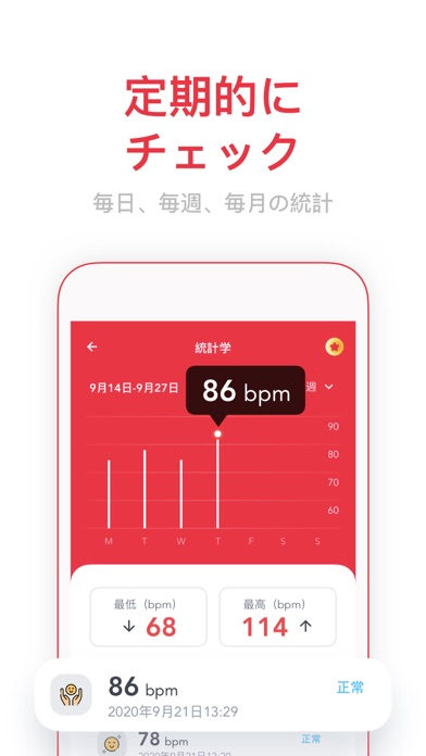 SmartPulse  Heart Rate Monitorのおすすめ画像3