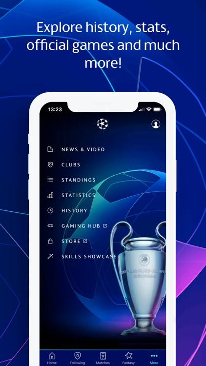 Champions League football screenshot-5