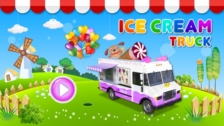 Ice Cream & Fire Truck Games 4 screenshot-0