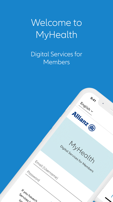 Allianz MyHealthScreenshot of 1