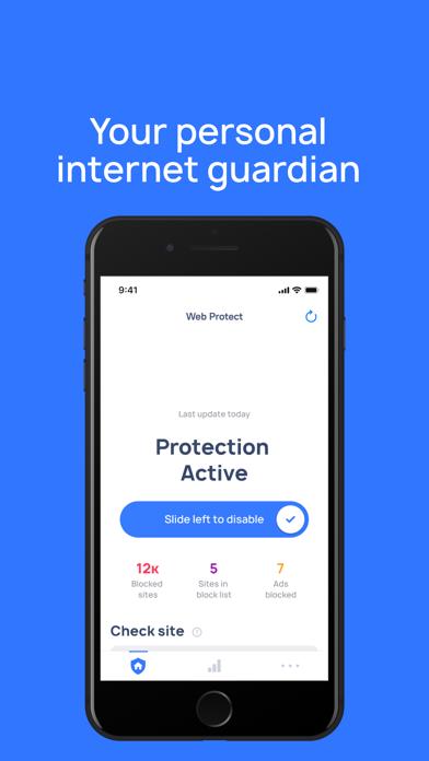 Web Protect Screenshot