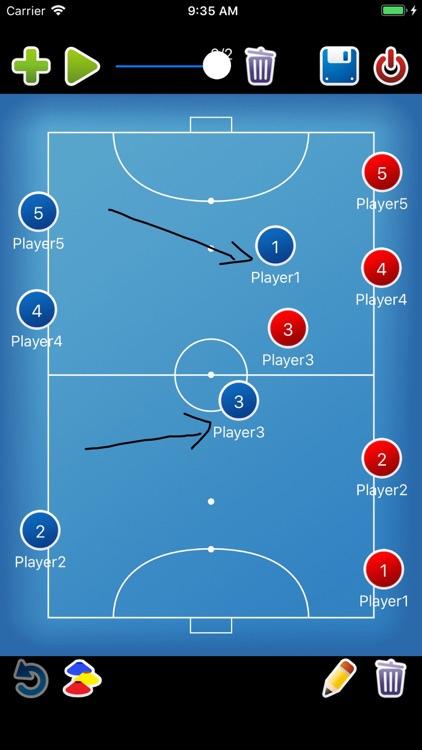 Coach tactic board Futsal screenshot-4