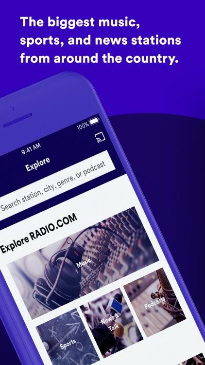 RADIO.COM screenshot-0