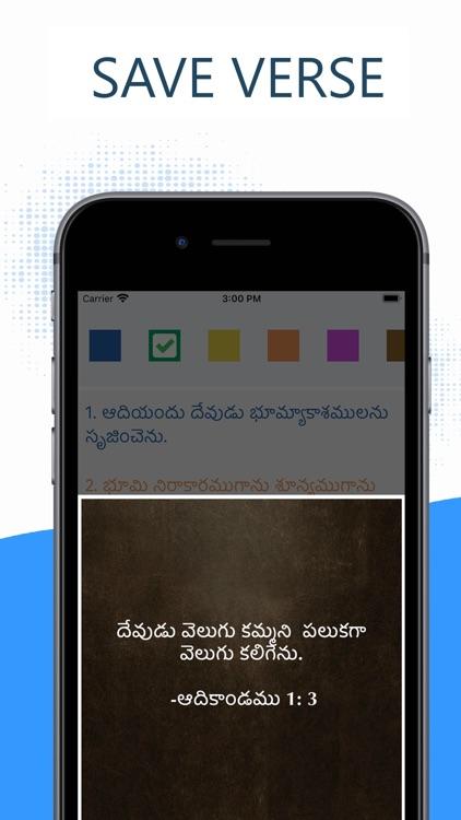 Telugu Bible Pro (Grandhamu) screenshot-3