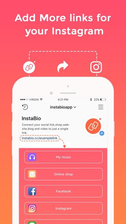 Instabio - Link in bio
