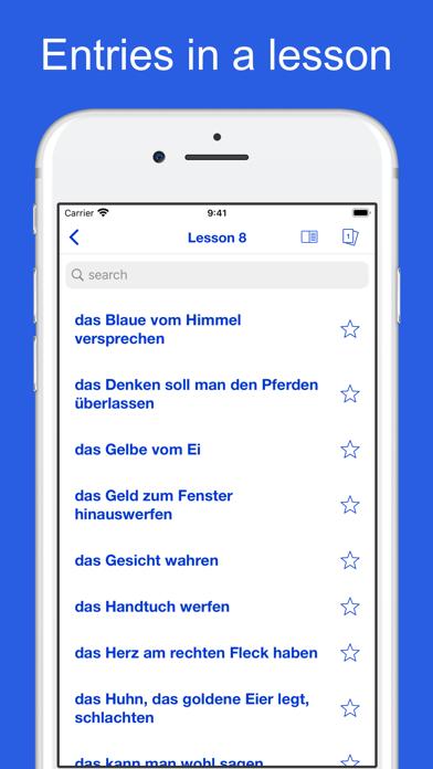 German Idioms, Proverbs screenshot 9