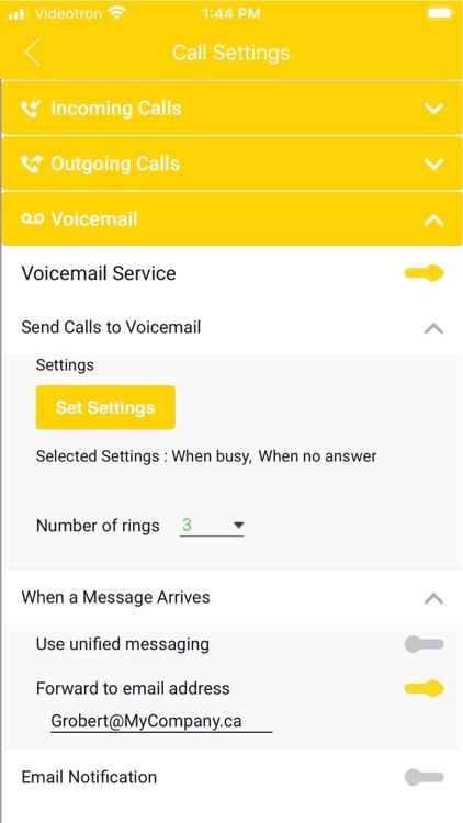 COMMaffaires Mobile screenshot-5